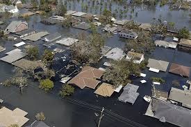 Hurricane Katrina destroyed New Orleans housing and public sector including schools; man made storm is Detroit is having same effects.