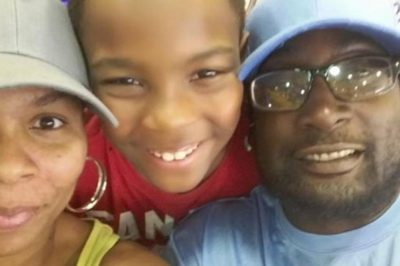 Keith Lamont Scott at right, from family's GoFundMe page
