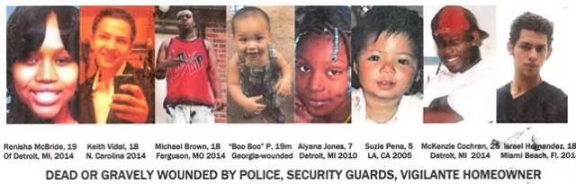 Kids dead by police