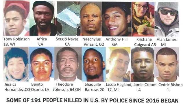 Killed by police