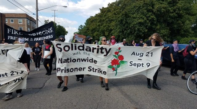 SUPPORT FOR NAT'L PRISONERS' STRIKE GROWS ACROSS AT LEAST 11