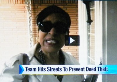 Deed Fraud Task Force Invest. Mary Jones, a 25-year police department veteran with no real estate training.