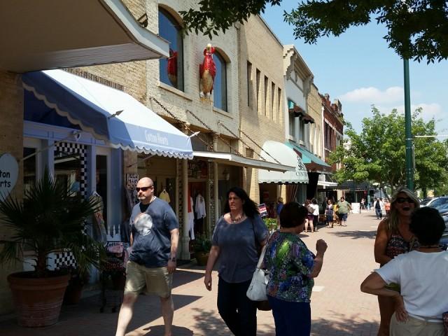 McKinney Texas street scene