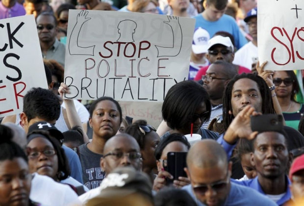 McKinney rally against racist police brutality June 8.