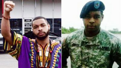 Micah Xavier Johnson, who allegedly killed five Dallas cops after returning home from Afghanistan.