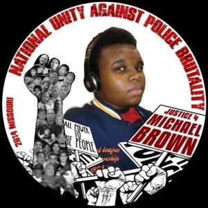 Michael Brown button