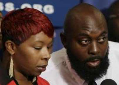 Michael Brown's parents Leslie McSpadden and Michael Brown Sr. have testified before the United Nations.