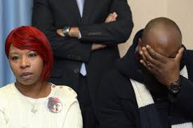 Michael Brown's parents Leslie McSpadden and Michael Brown, Sr. testify at UN Committee on Torture.
