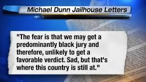 Michael Dunn jailhouse letter