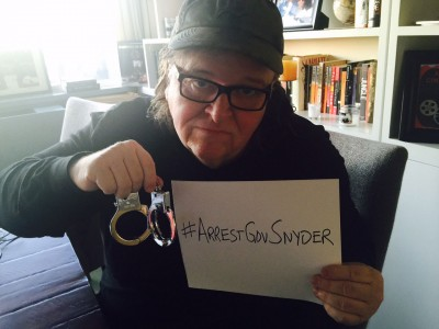 Michael Moore, filmmaker and Flint resident.