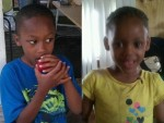 Michaelangelo and Makiah Jackson, 6 and 3