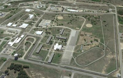 Aerial view of Kinross Correctional Facility/MDOC