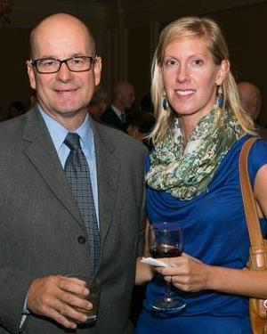 Detroit News editor Nolan Finley and writer Ingrid Jacques