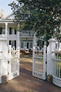 Oak Square plantation mansion, the largest in Port Gibson, invites guests for the night. Photo credit: Southern Living