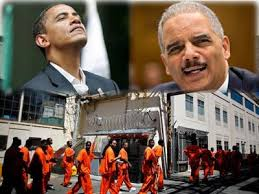 Obama and Holder ignore Mass Black Incarceration State.