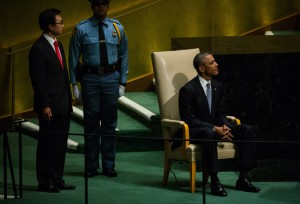 In a speech before the United Nations on Wednesday, President Obama asked the world to join the fight against the Islamic State.Credit Damon Winter/The New York Times