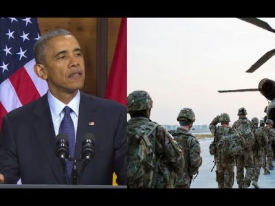 Obama sends 500 U.S. troops to Syria.