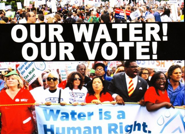 Our Water Our Vote