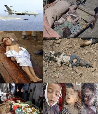 Palestinian children murdered by Zionist Israeli air attacks.