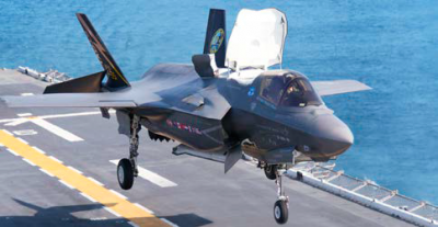 The F-35 Lightning II jet, the next-generation fighter for the United States and its allies, is powered by Pratt & Whitney's F135 engine. The U.S. Marine Corps' F-35B variant is on track for initial operational capability in 2015, followed by the Air Force's F-35A in 2016 and the Navy's F-35C in 2019.
