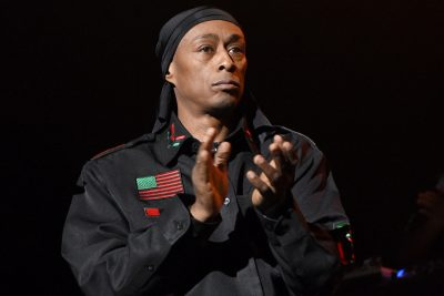 LAS VEGAS, NV - JUNE 06: Rapper Professor Griff of Public Enemy performs at The Joint inside the Hard Rock Hotel & Casino on June 6, 2015 in Las Vegas, Nevada. (Photo by Ethan Miller/Getty Images)