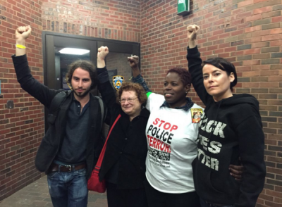 First four protesters to be released/Photo Keegan Stephan