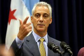 Chicago Mayor Rahm Emanuel, formerly Obama's Secretary of Education. He is a strong advocate of charter schools.