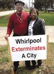 Rev. Pinkney and his wife Dorothy have battled against the Whirlpool Corporation, which has decimated Benton Harbor with job loss and land grabs, for years.
