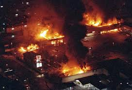 LA: Rodney King rebellion 1992.