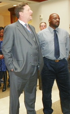 Attorney Gregory Rohl and Floyd Dent.