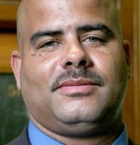 "Detroit police Sgt. Michael Russell; photo is taken from ""First 48"" reality show website, the same site which boasted Joseph Weekley as a star. The shows main purpose was to show that homicides needed to be wrapped up in 48 hours."