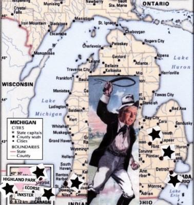 Slavemaster Snyder attacks Michigan's majority-Black, poor cities through EM law.