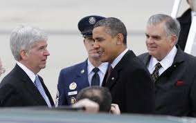 Make Michigan Governor Rick Snyder and U.S. President Barack Obama pay,