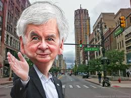 Tricky Rick Snyder takes over Detroit under unconstitutional, fraudulent bankruptcy.