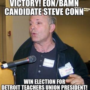 Steve Conn wins