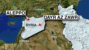 US airstrike hit Syrian govt. soldiers in Dayr Az Zawr.