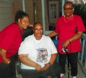 Nelda Kellom, mother of Terrance Kellom, executed by a Detroit police task force April 19, 2015, shot nine times,