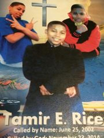 Cover to Tamir Rice