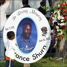 Memorial for Terrance Shurn at his funeral