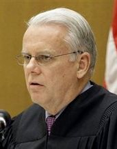 Wayne County Circuit Judge Timothy Kenny rules Monday, Oct. 20, 2008 in Detroit, that he will release some sealed text messages by former Detroit Mayor Kwame Kilpatrick and his ex-chief of staff Christine Beatty unless an appeals court intervenes by Thursday. (AP Photo/Paul Sancya)