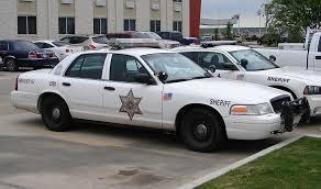 Tulsa County Sheriff cars