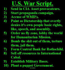 US War script