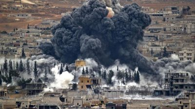 US-led strike that killed up to 80 Syrian government soldiers.
