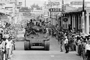 US invasion of Dominican Republic, 1916.