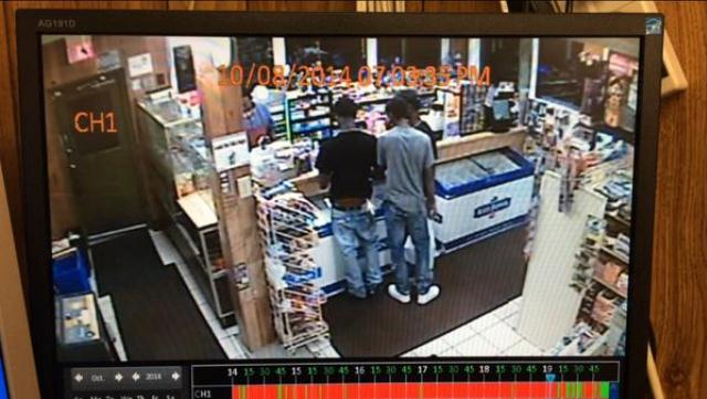 Store video of Vonderrit Myers and friends just before St. Louis police killed him.