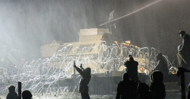 Water protectors under attack at Standing Rock,