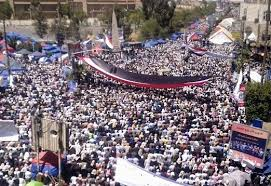 Yemen's 2011 uprising occurred after Egyptian and Tunisian revolutions, but did not displace government.
