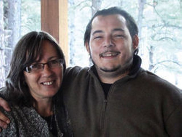 Zachary Pithan, with mother Cleo Daily. He was killed by Phoenix police officer Clint Brookins on April 20, 2013.