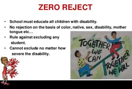 Zero reject