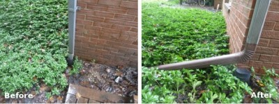 downspout-before-after